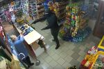 Polish shopkeeper defend her property against robber with mop