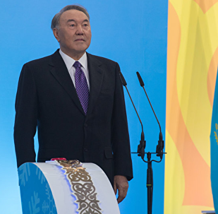 Nursultan Nazarbayev dal start estafete ognya zimney Universiadы-2017