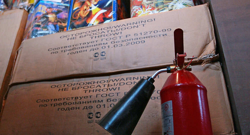 More than 20 injured in fireworks mishaps in Moscow on New Year's