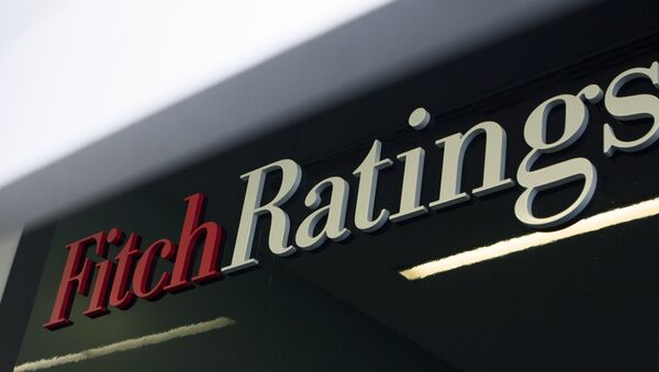 Logotip agentstva Fitch Ratings - Sputnik Oʻzbekiston
